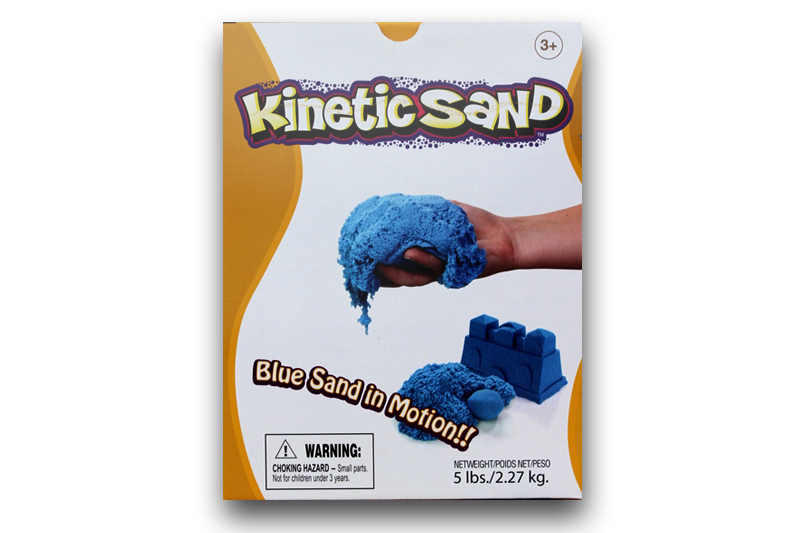 Kinetic Sand Blue (Albastru) Waba Fun Suedia - 2.27 Kg