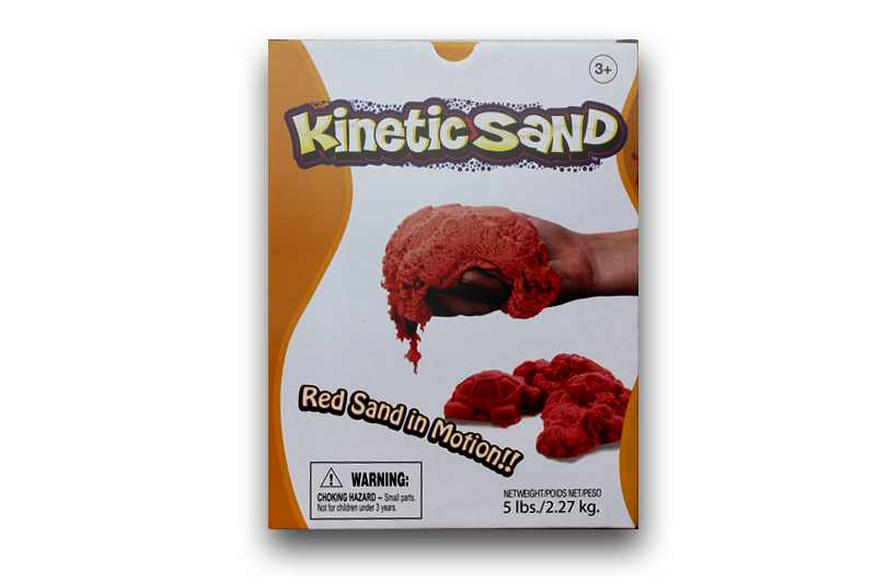 Kinetic Sand Red (Rosu) Waba Fun Suedia - 2.27 Kg